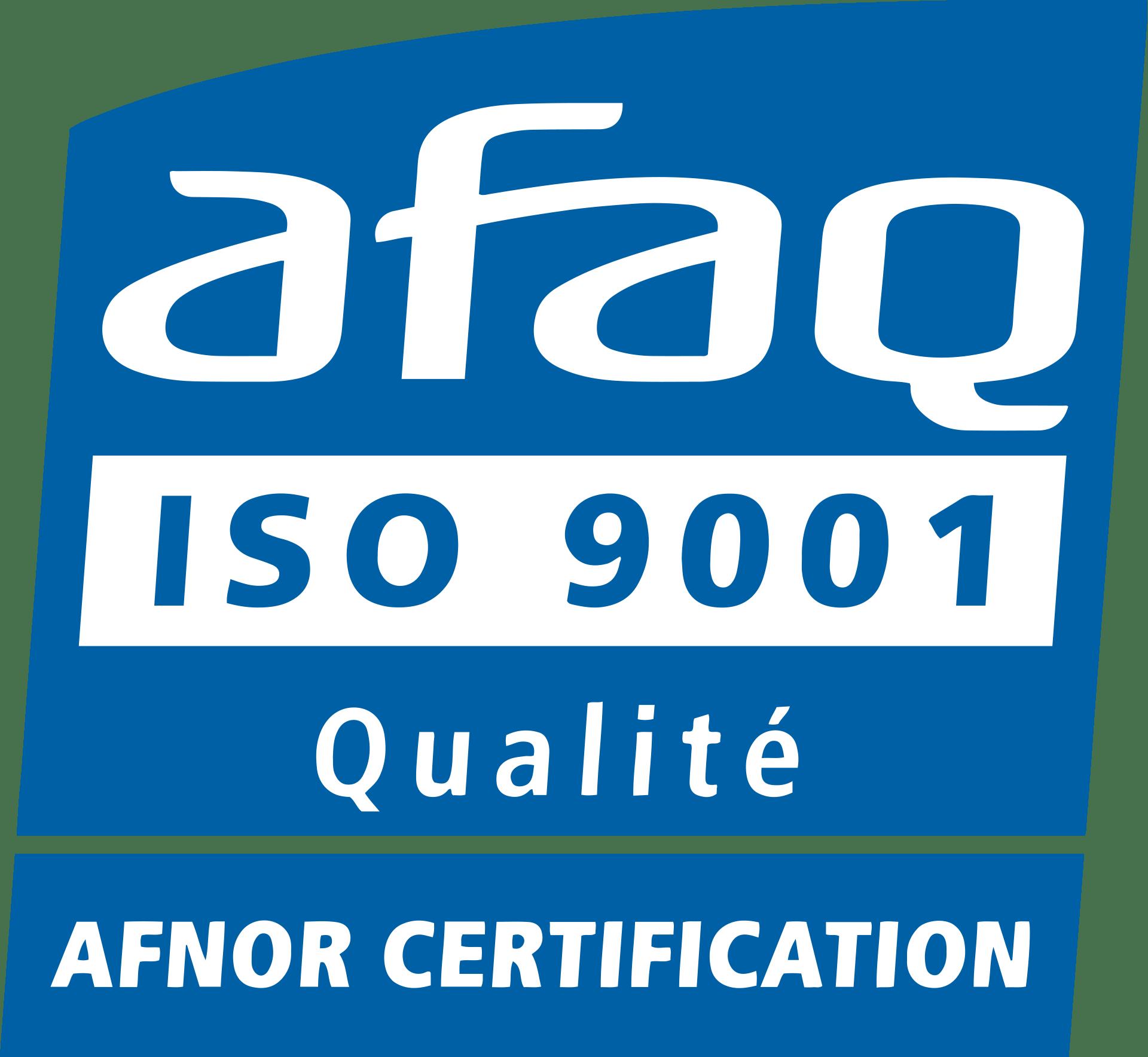 HAM FRANCE - ISO 9001