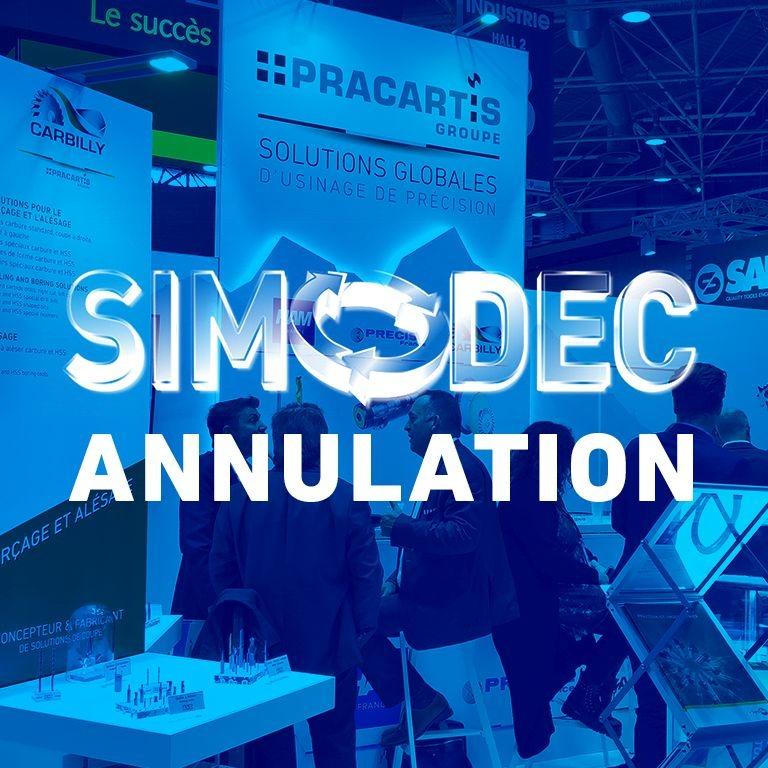 HAM France - SIMODEC 2020 annulé